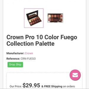 Crown pro eye shadow